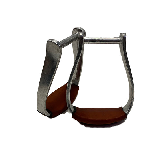 Aus Made Aluminium Oxbow Stirrups 3in w Tread