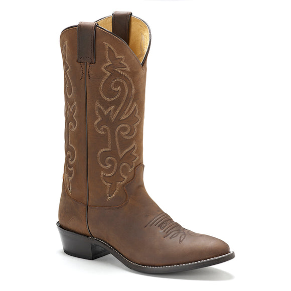 Justin Buck Bay Apache Western Mens Boot