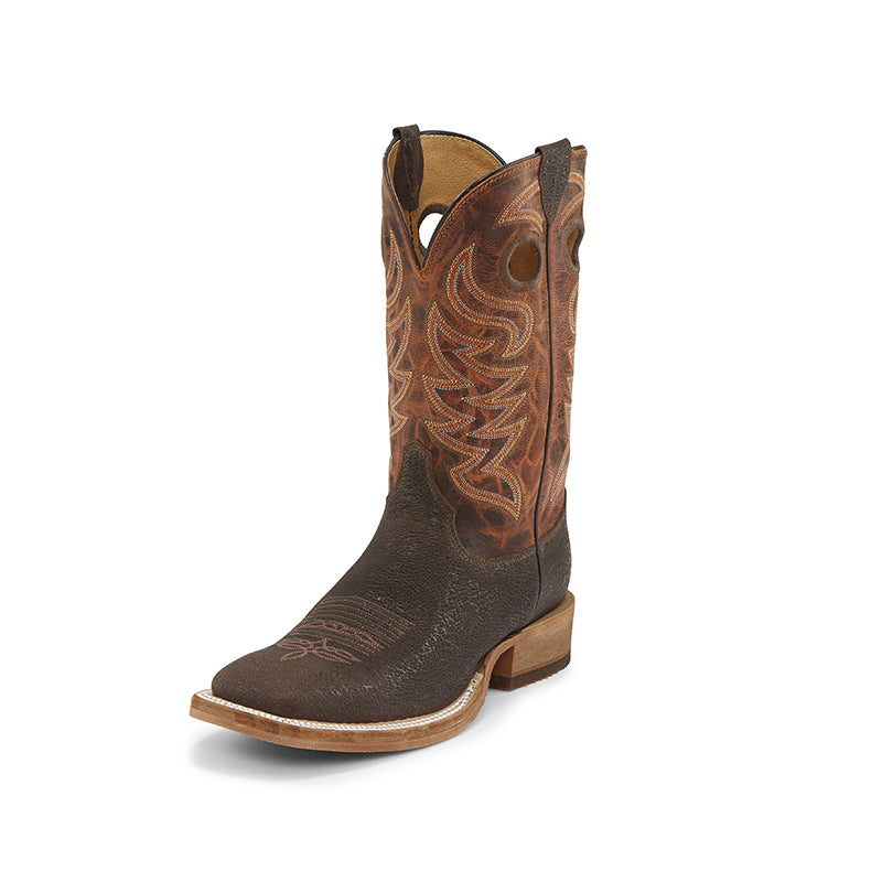 Justin Caddo Brown Stone Mens Boot