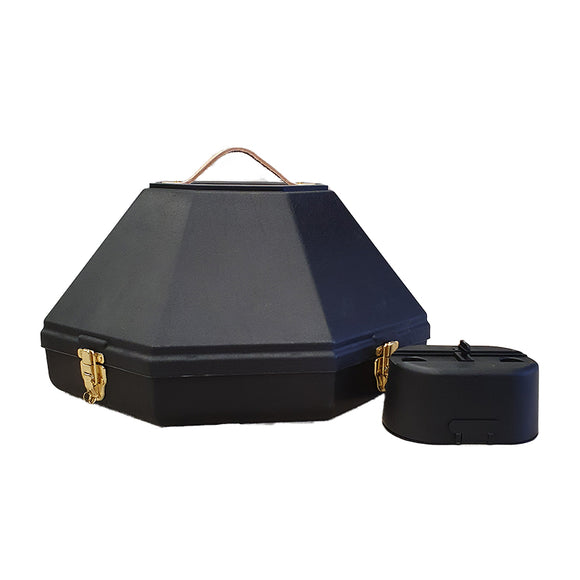 Deluxe Western Hat Carrier w Accessory Case