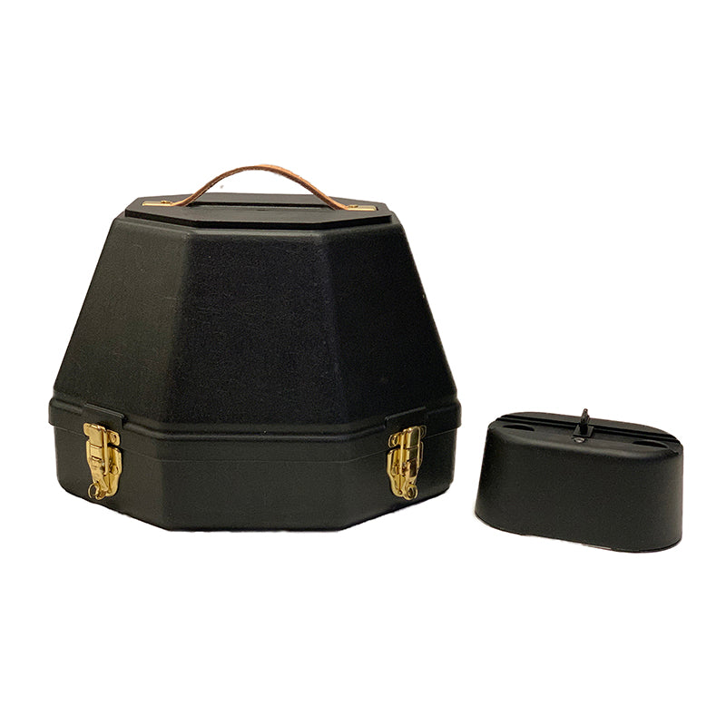 Deluxe English Helmet Carrier w Accessory Case