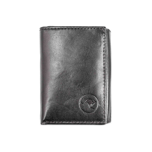Badgery Belts Kangaroo Leather 2 Fold Wallet