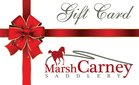 Marsh Carney Saddlery Online Gift Voucher