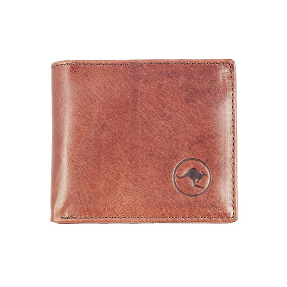 Badgery Belts Kangaroo Leather Fold Wallet