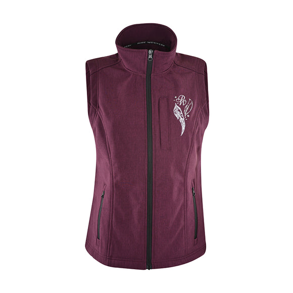 Pure Western Wmns Angela Softshell Vest