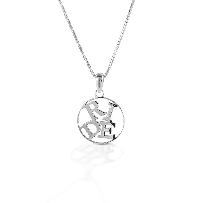 Kelly Herd Ride Pendant Necklace