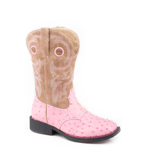 Roper Toddler Daniela Ostrich Boot