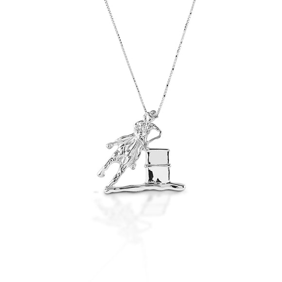 Kelly Herd Large Barrel Racing Pendant