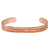 Sabona Copper Western Scroll Magnetic Bracelet