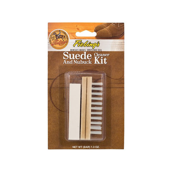 Fiebings Suede Cleaner Kit