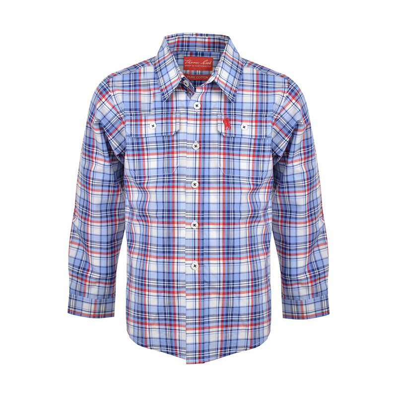 TC Boys Bellevue 2Pkt L/S Shirt