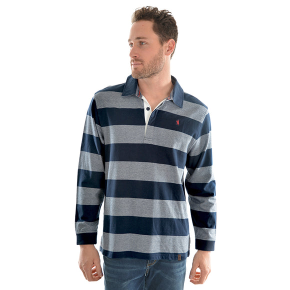TC Mens Paxton Stripe Rugby