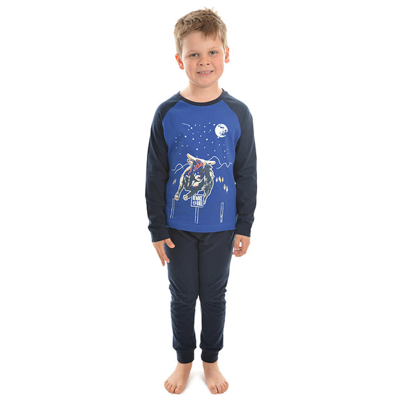 TC Boys Treasure Hunt Glow in the Dark PJs