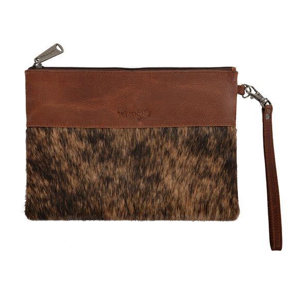 Wrangler Wmns Cowhide Clutch