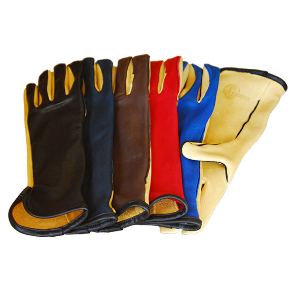 Geier Bull Rider w Strap Two Toned Glove