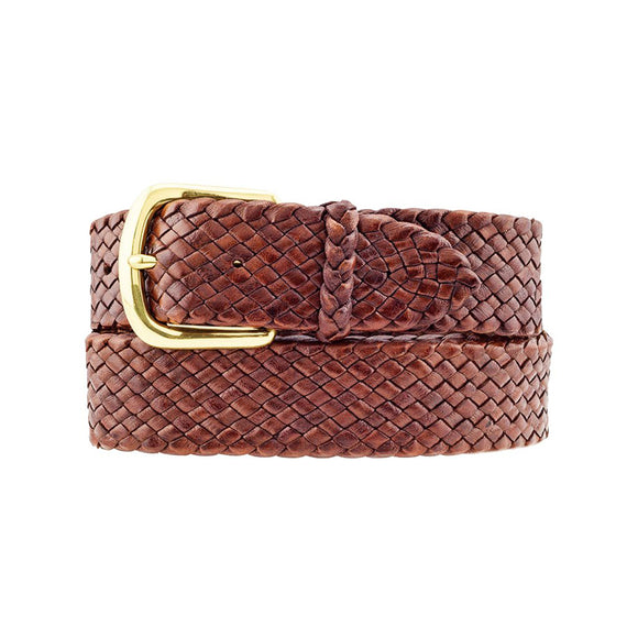 Badgery Belts Drover 12 Plait Roo Belt