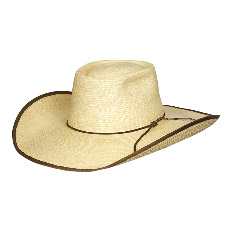 Sunbody Alex Bound 4.5in Brim Palm Straw Hat