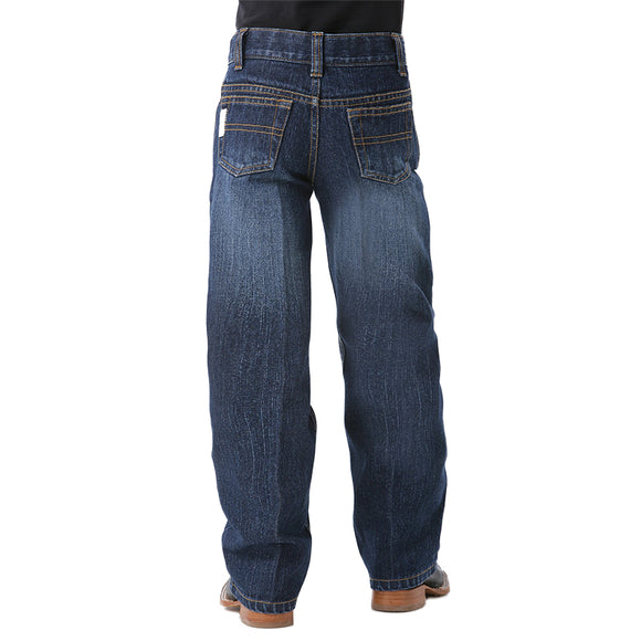 Cinch Boys White Label Dark Wash Jean