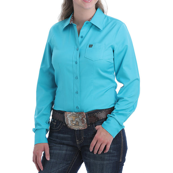 Cinch Wmns L/S Plain Shirt