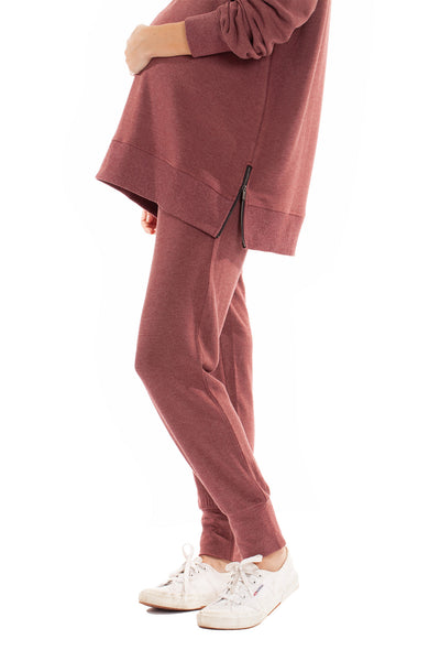 The Marni Jogger - Dusty Rose