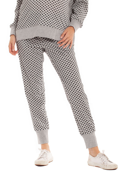 The Marni Jogger - Star Print