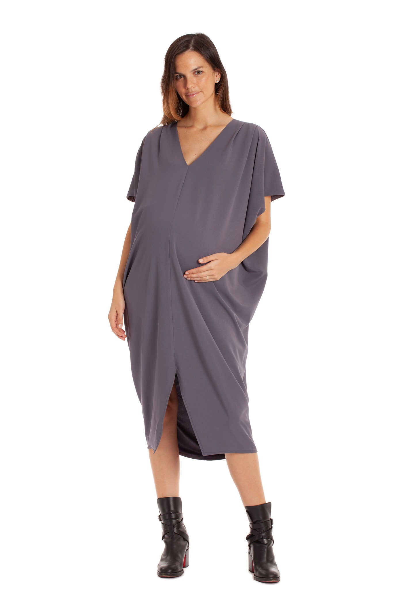 The Sophia Dress - Grey