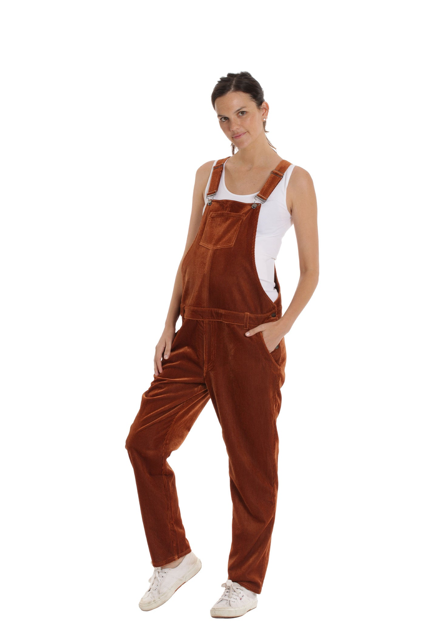 The Teddi Overall - Copper