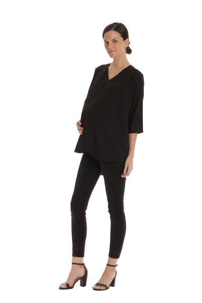 The Blake Top - Black