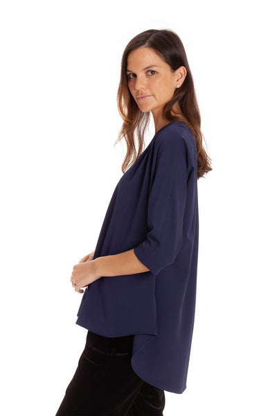 The Blake Top - Navy