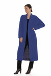 The Madison Duster - Cobalt Blue