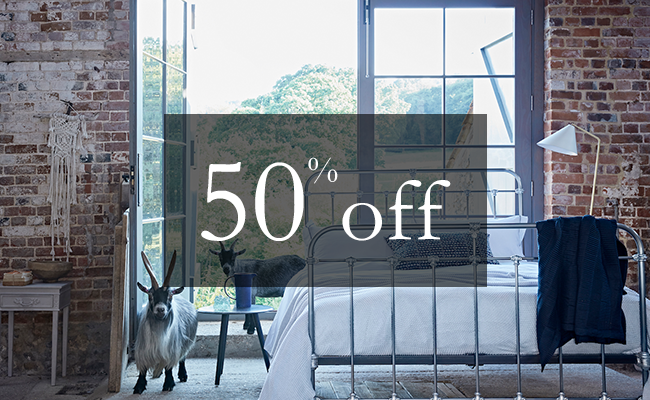 50% off your purchase | Sign Up To Win | Cornish Bed Company