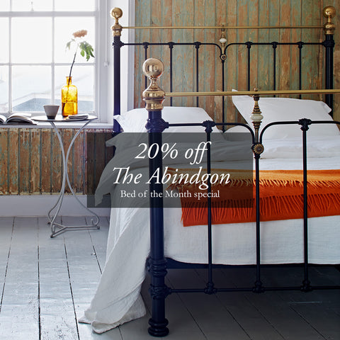 The Abingdon August Bed of the Month | The Cornish Bed Company