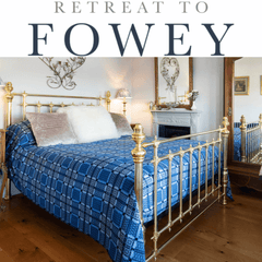 The Cornish Bed Company bed at Retreat to Fowey