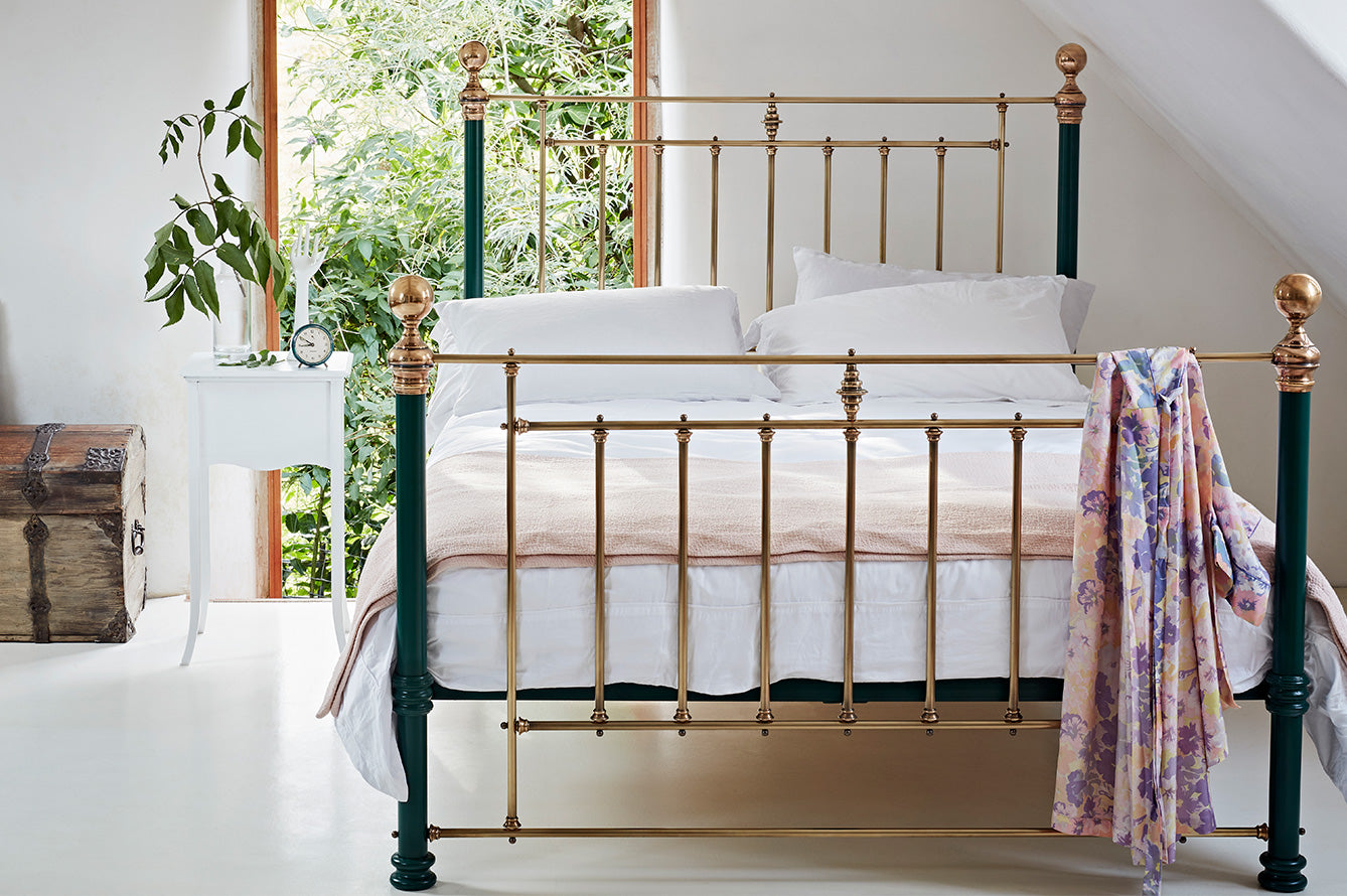 Picture of: Brass Beds Bedframes Bedsteads The Cornish Bed Company