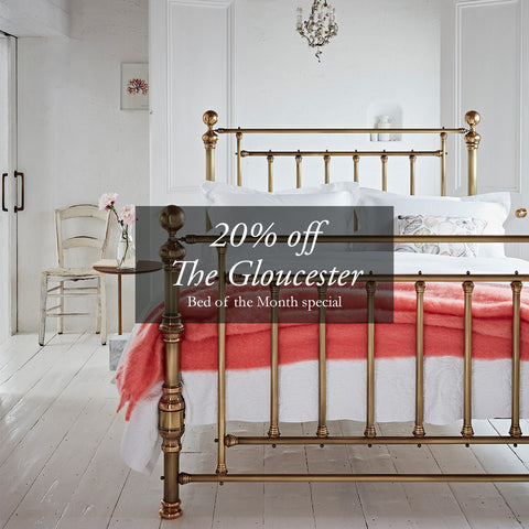 The Gloucester September Bed of the Month | The Cornish Bed Company
