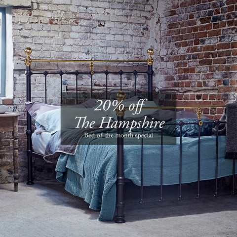 20% off The Hampshire October Bed of the Month | The Cornish Bed Company