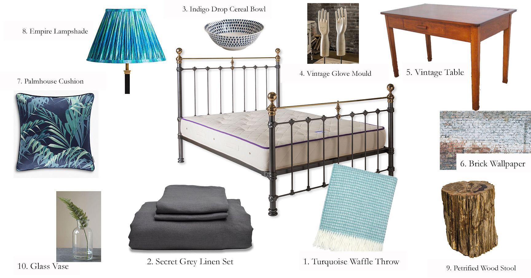 10 Items To Create A New York Loft Style Bedroom | The Cornish Bed Company Blog