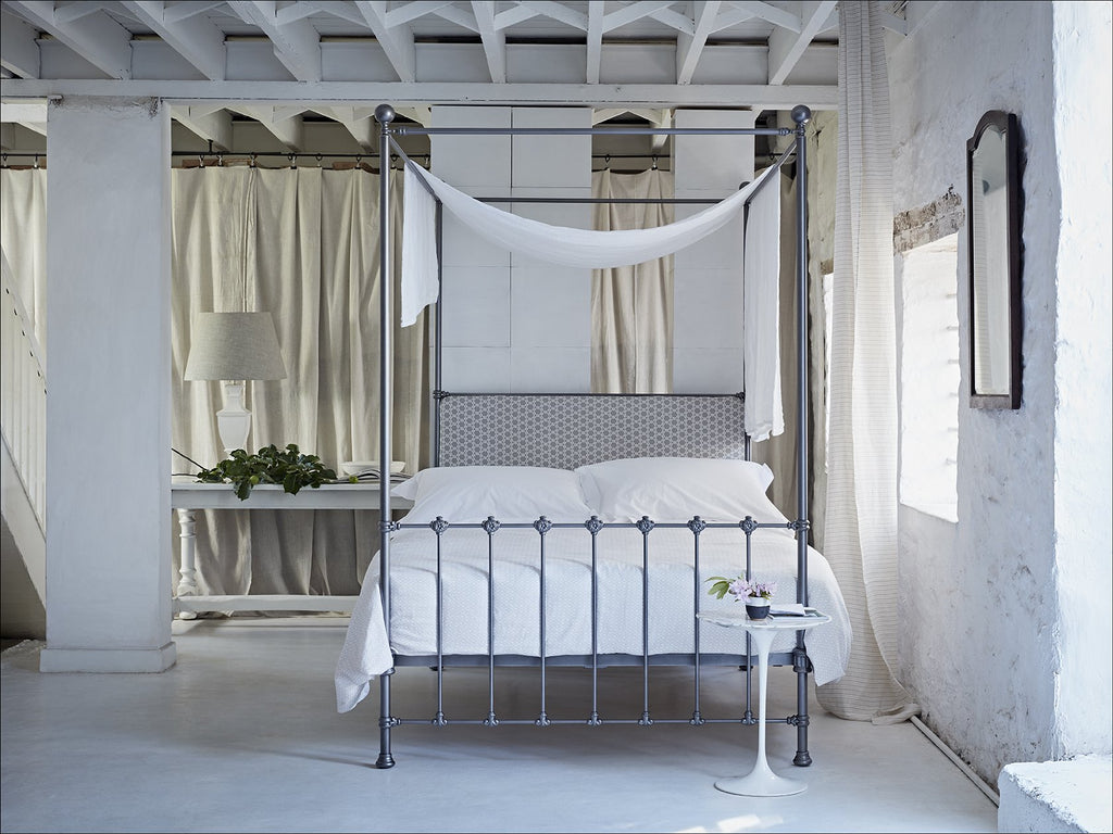 cornish bed, four poster bed