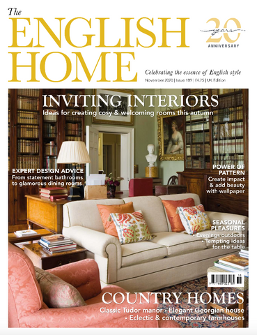 Cornish Bed Company Dog Day Bed featured in The English Home Nov 2020
