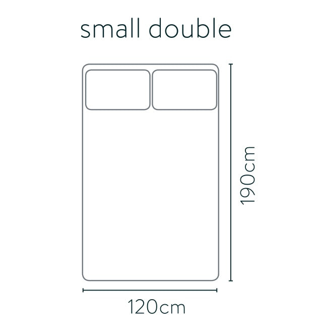 Small double bed size