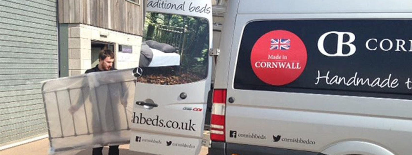 Cornish Bed Company delivers
