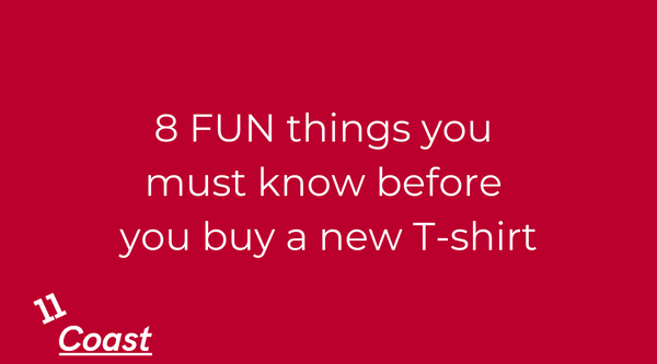 8 FUN things you must know before you buy a new T-shirt