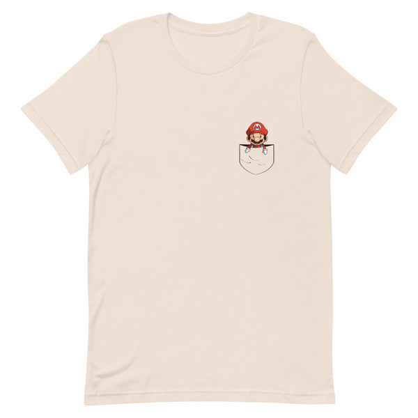 Super Mario Pocket Design T-Shirt