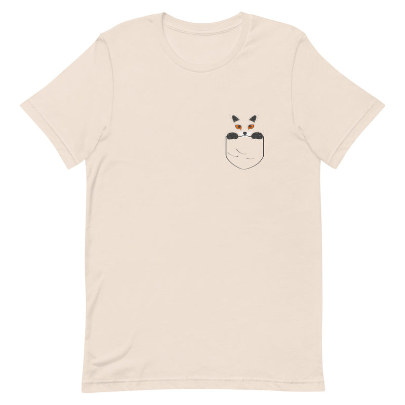 Fox Pocket Design T-Shirt
