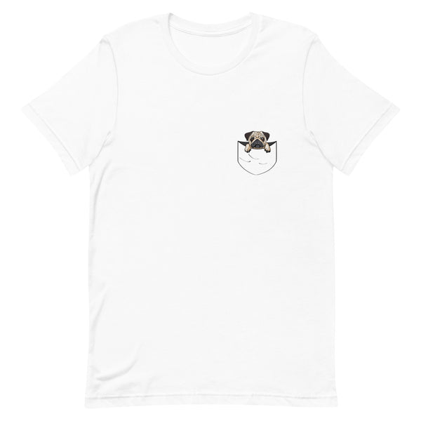 PUG Pocket Design T-Shirt