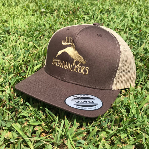 Brown/Khaki Logo Snapback