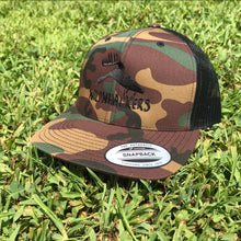 Load image into Gallery viewer, Retro Camo Logo Snapback