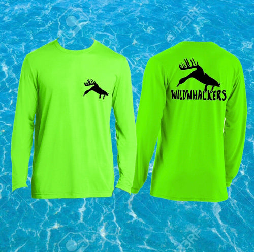 Performance Fishing Tee (Lime Green)