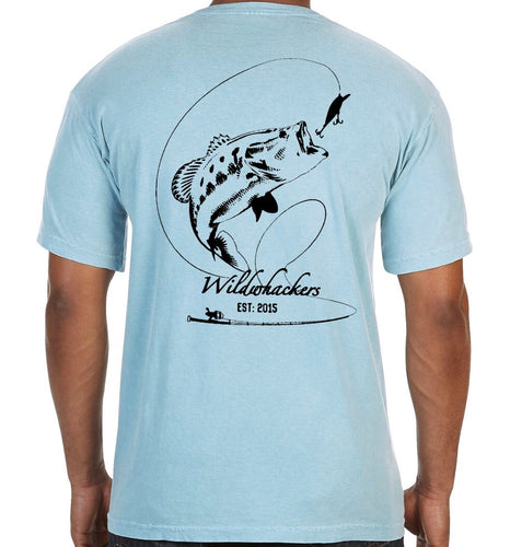 Fishing Comfort Color Pocket Tee