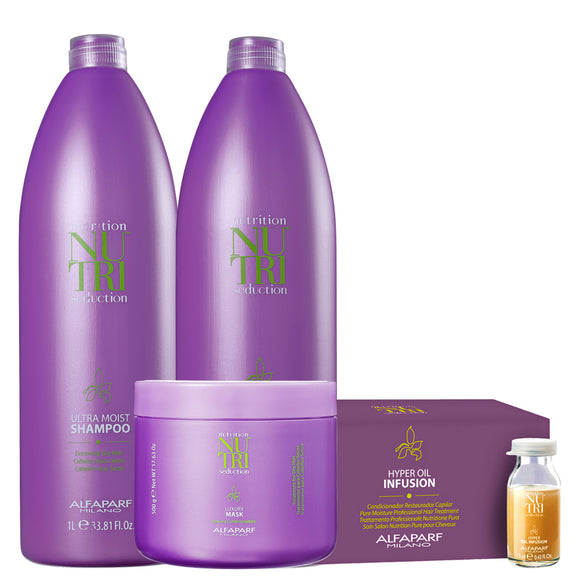 Kit Alfaparf Nutri Seduction Tratamento Profissional Salon